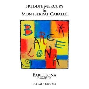 Freddie Mercury: Barcelona CD (orchestra premiere recording)