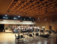 The FILMharmonic Choir records the White Angel score in the CNSO Studio